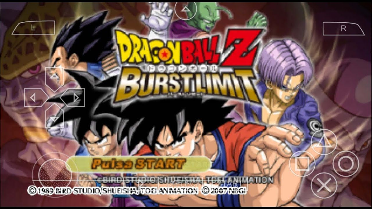 New Dragon Ball Z Shin Budokai 3 Burst Limit Mod Iso Download