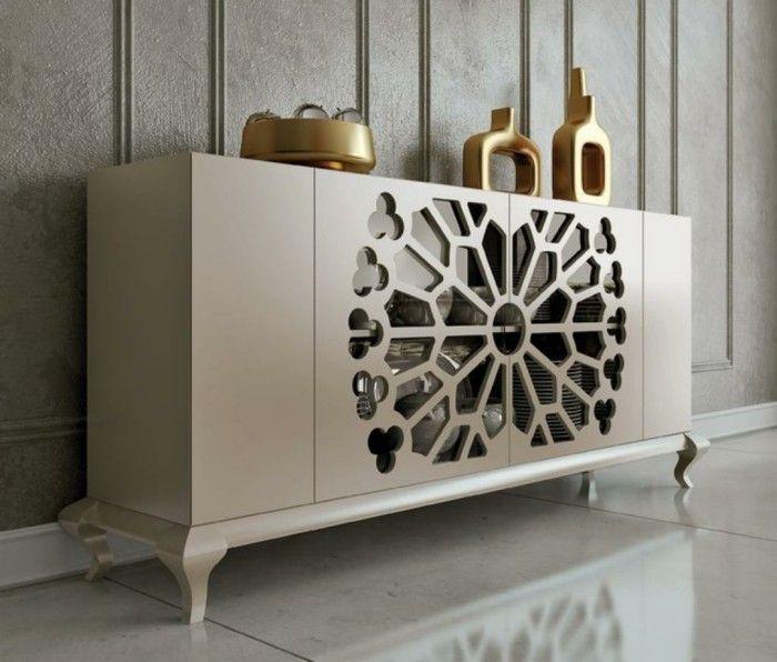 Dining Room Buffet Decor: Elegant Dining Room Sideboard Decorating Ideas