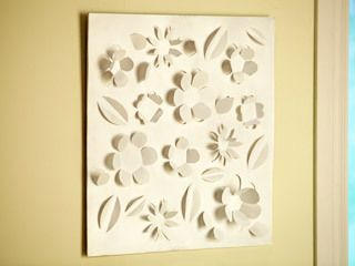 Cuadro con relieve encuentra lista de materiales y paso a for Utilisima decoracion