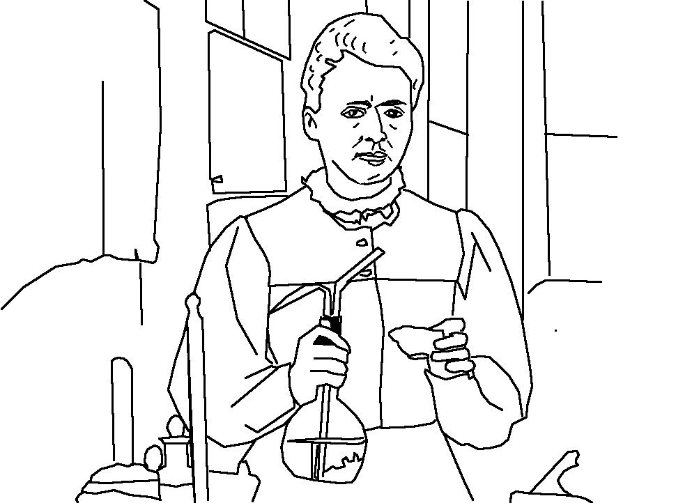 Maire Curie Landscape Free Printable Coloring Pages Coloring