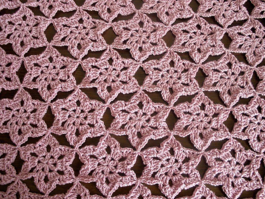 Crochet motif Shawl Part 1 |    ...
