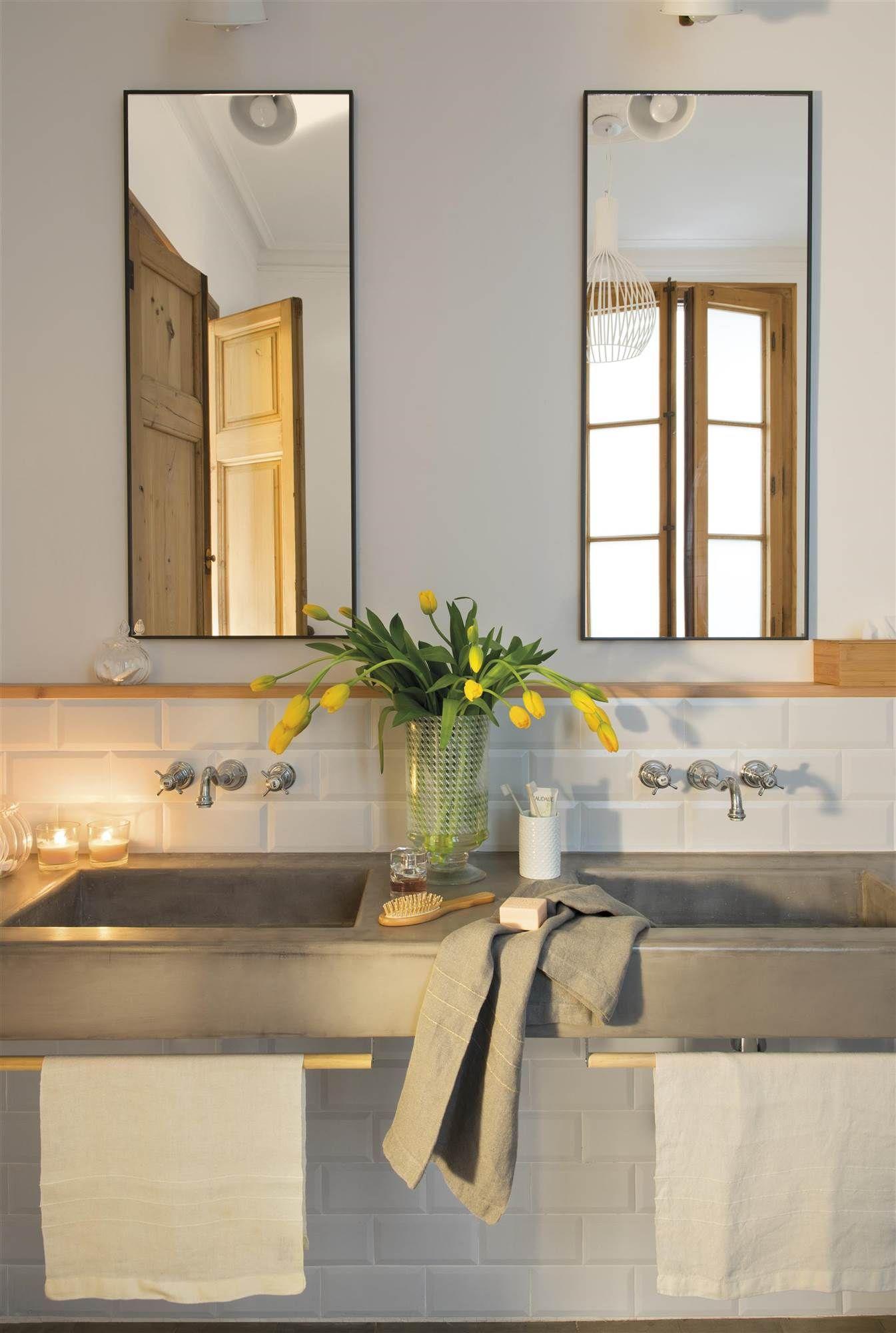 Estiliza en vertical ba os bathrooms pinterest for Banos antiguos decoracion