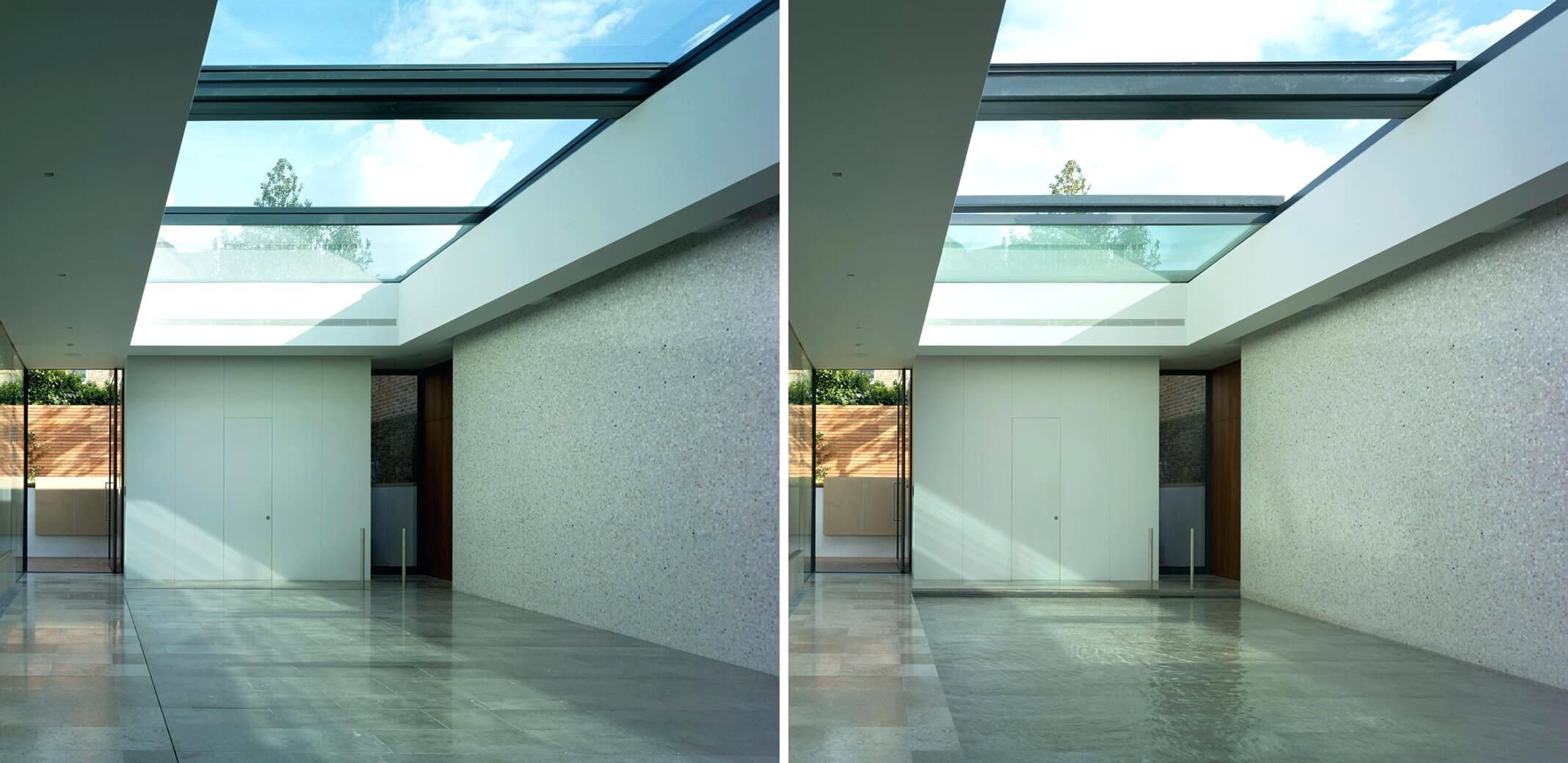 Glass Roof House Large Fixed Glass Roofs Glass Roof Extension