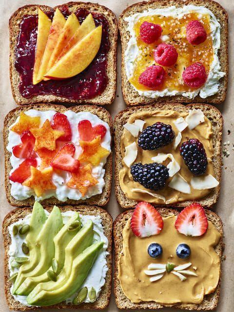 Energy-Boosting Breakfast Toast images