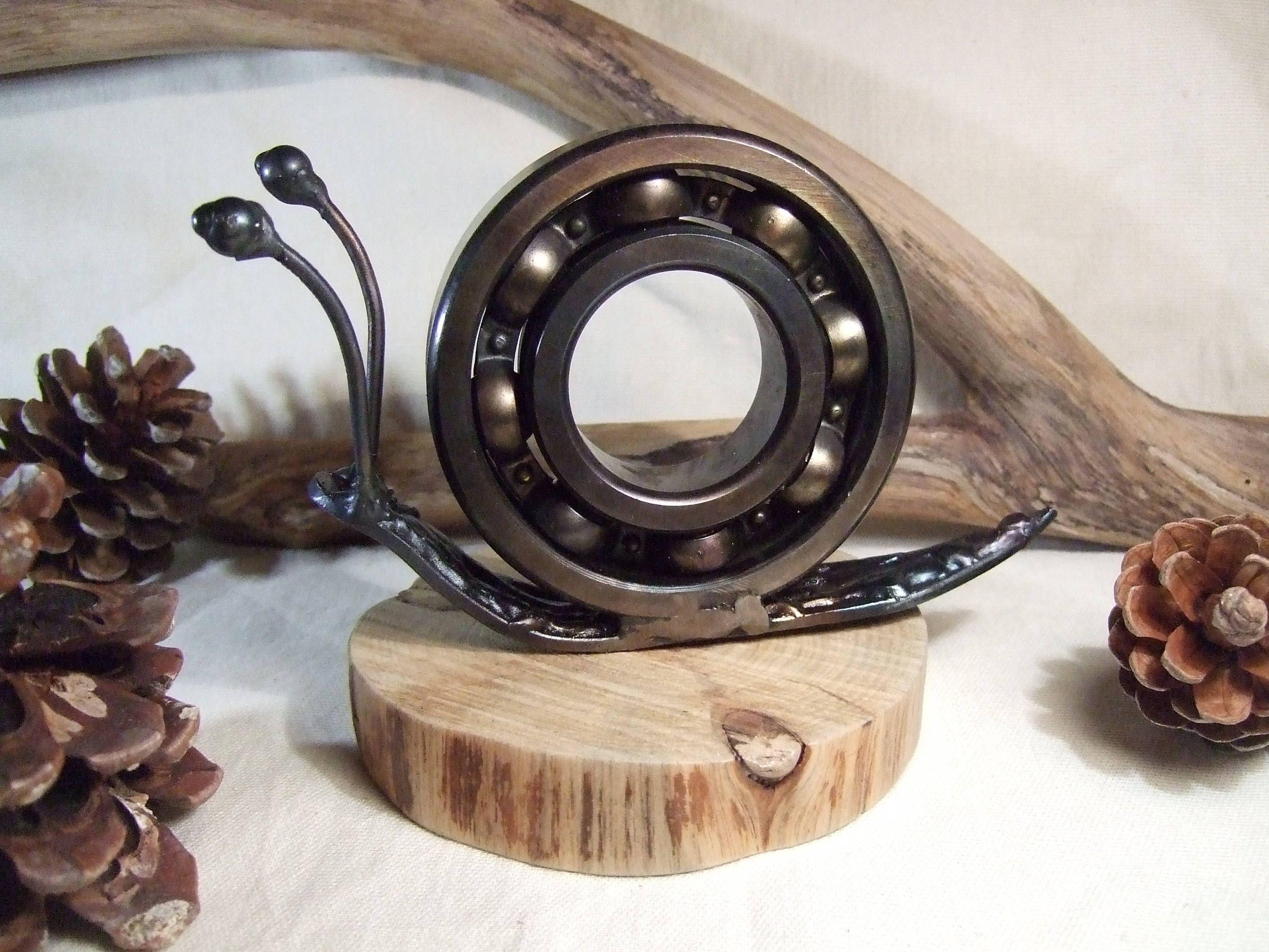 Escultura de metal hecha a mano decoraci n industrial - Esculturas decoracion ...