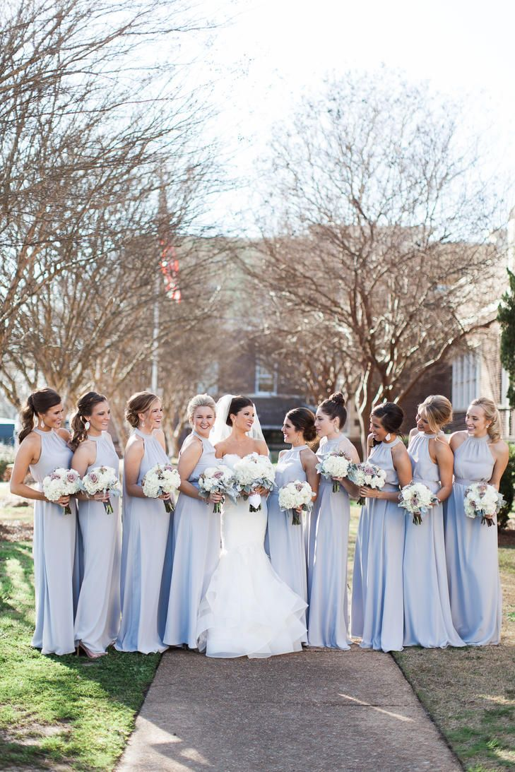 Silver bridesmaid dresses bridesmaid dresses pinterest dusty silver bridesmaid dresses ombrellifo Images
