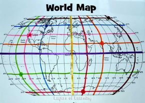 This lesson plan includes a printable world map with a map grid and this lesson plan includes a printable world map with a map grid and shows you how gumiabroncs Choice Image
