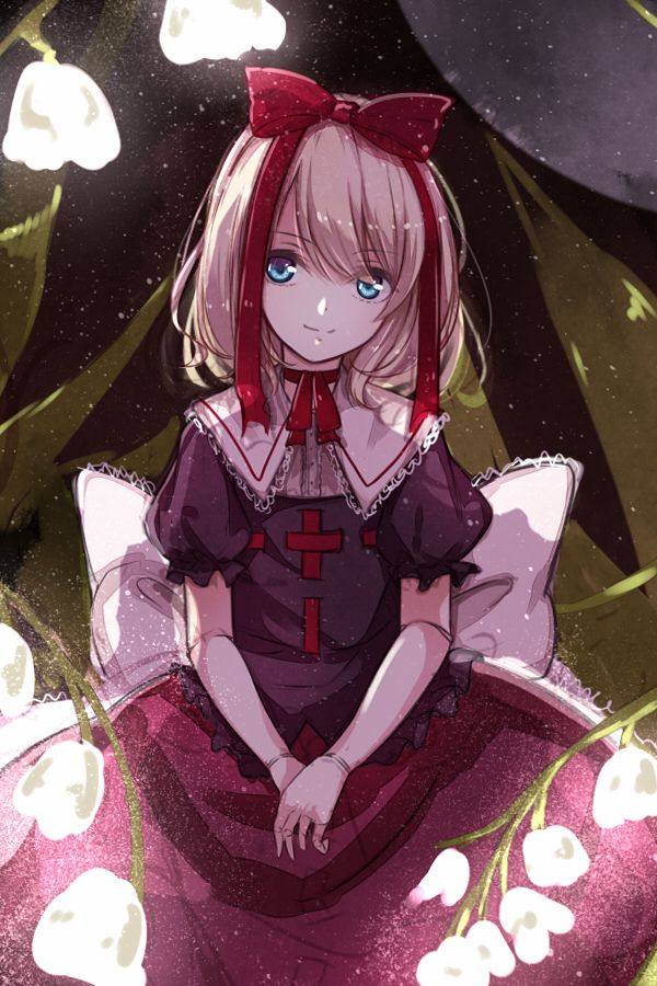 Medicine Melancholy, the living doll from the Touhou