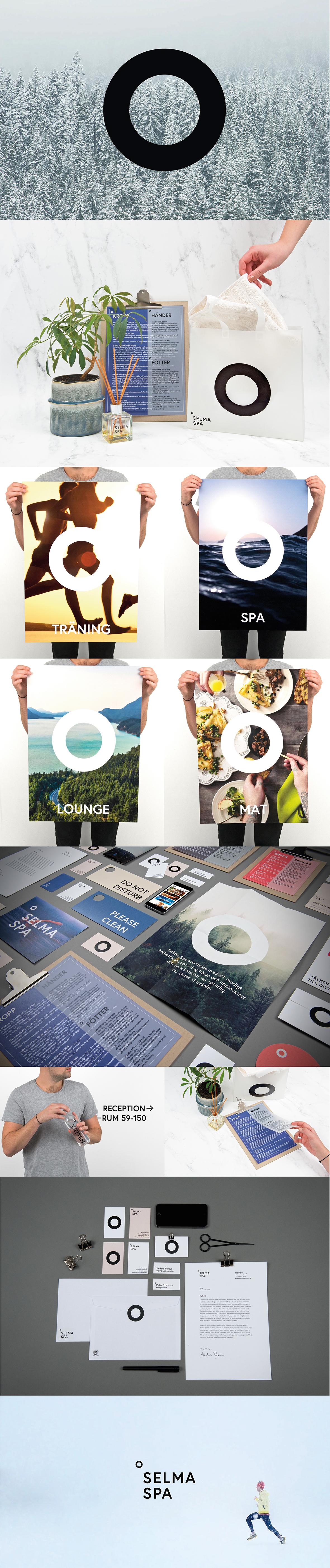 Visual identity for Selma Spa.  https://www.behance.net/gallery/32241747/Selma-Spa-Identity  #spa #hotel #branding #identity #graphicdesign #design