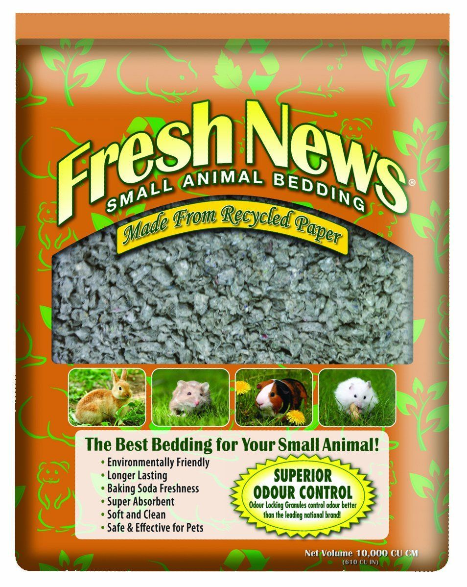 Fresh News Paper Small Animal Bedding, 10,000Cubic