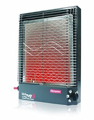 Camco 57341 Olympian Wave 6 6000 Btu Lp Gas Catalytic Heater Heater