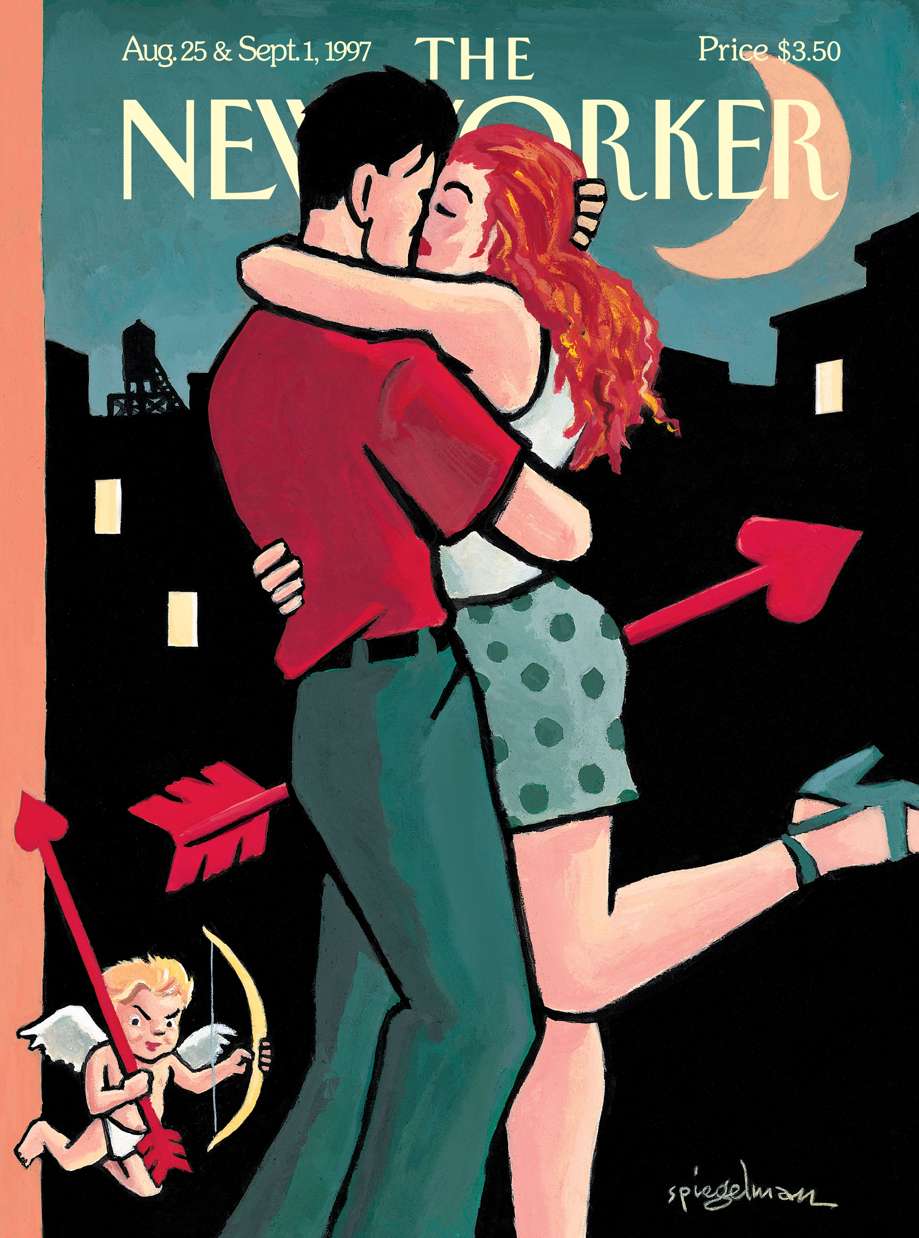 The New Yorker Cover 1997_08_25_Spiegelman_Cupid.
