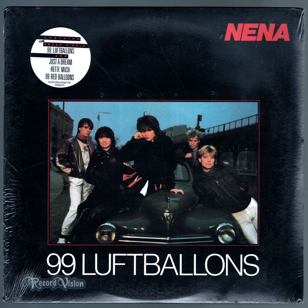 The Lead Single 99 Luftballons Is Nenas Most Successful Song To Date 99Luftballoons Red Balloons A Staple Of MTV Era Nostalgia