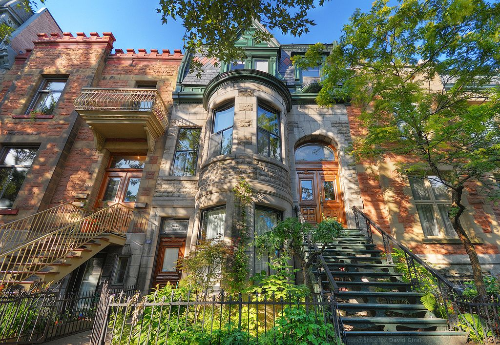 Montreal Brownstones Here 39 S Some Inspiration For Your