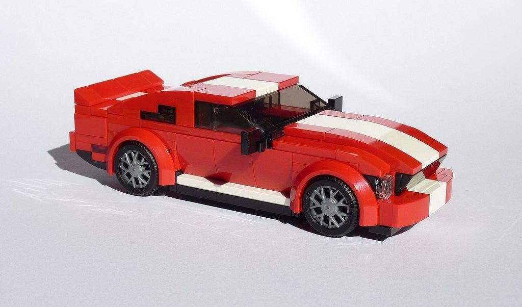 Shelby Gt500 Lego Wheels Lego Trains Cool Lego