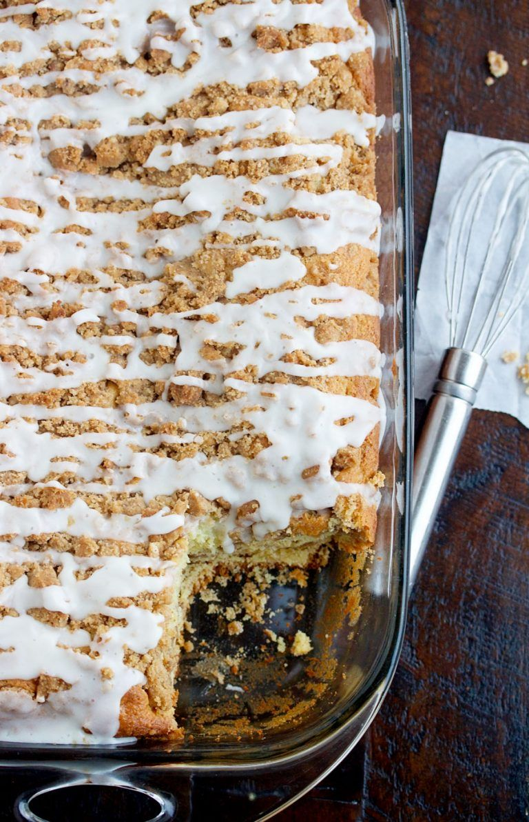 Sour Cream Coffee Cake With Cinnamon Streusel 5 Boys Baker Recipe In 2020 Sour Cream Coffee Cake Coffee Cake Recipes Easy Coffee Cake