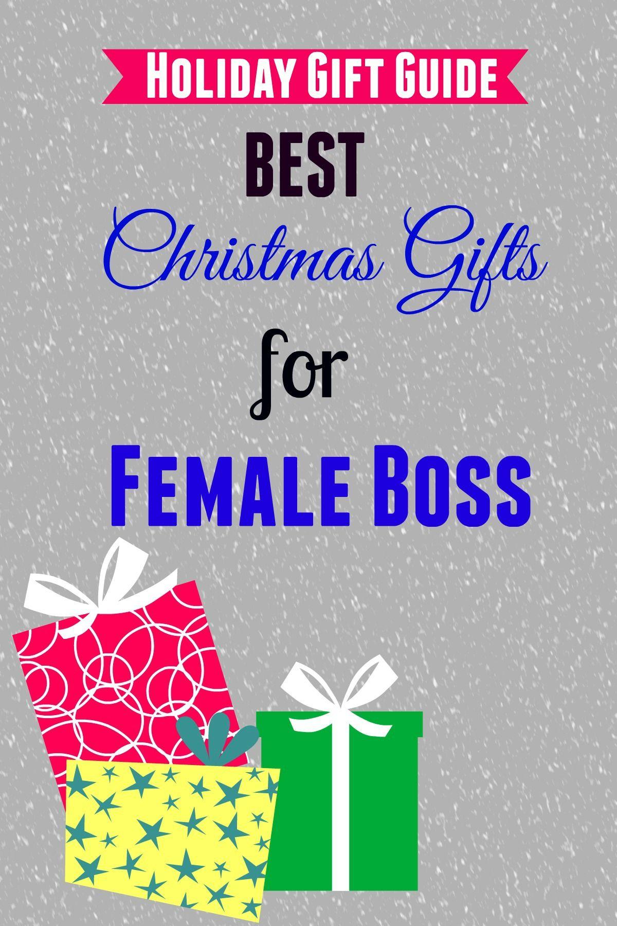 Best Christmas Gifts For Female Boss Christmas Boss