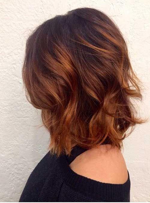 25+ Latest Long Bobs Hairstyles | Hair | Hair styles, Auburn hair, Dyed hair