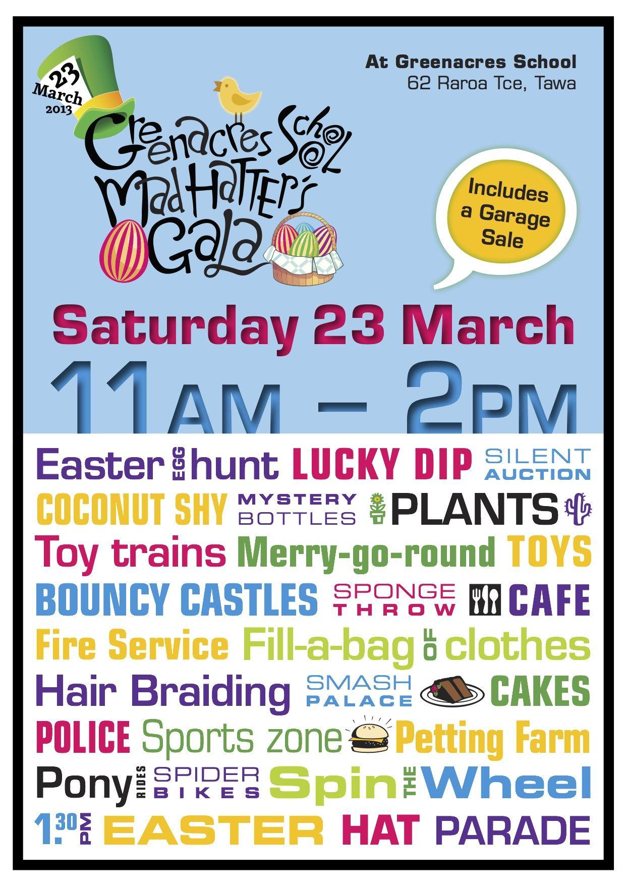 Greenacres School Mad Hatter's Easter Gala