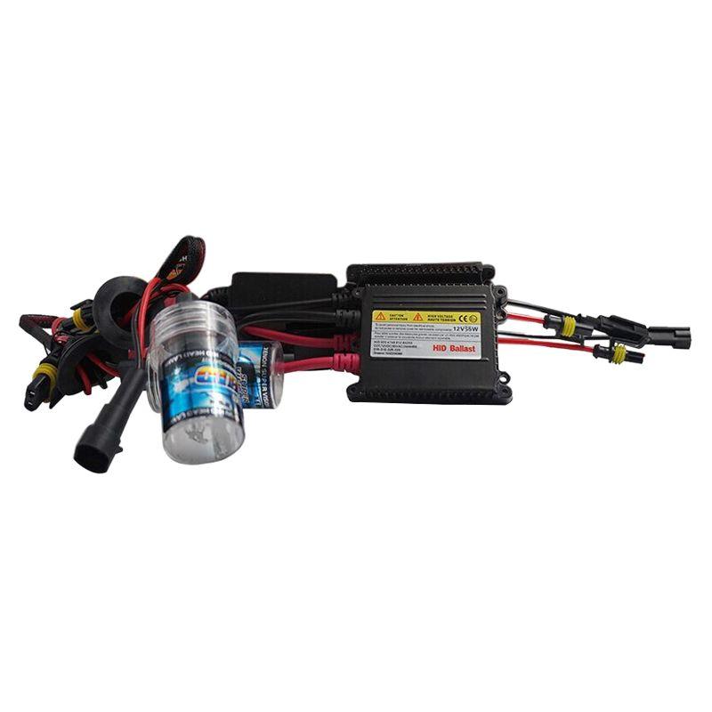 Auto 1 Pair 35w Hid Xenon Bulbs Headlight Conversion Kit Silm Ballasts 9006 3000k Car Lights Hid Xenon Ballast