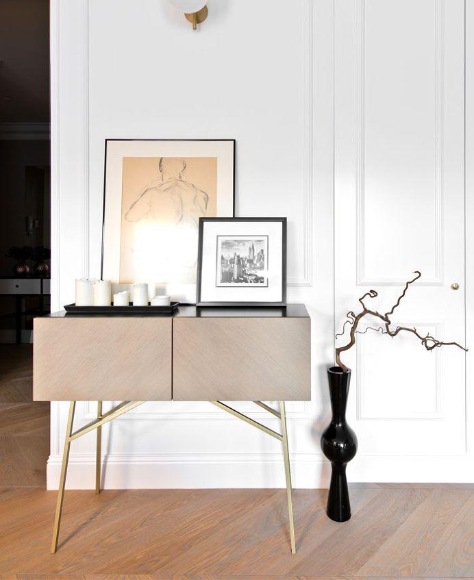 Elegant Apartment in Vilnius by Indre Sunklodiene #decor, #interior