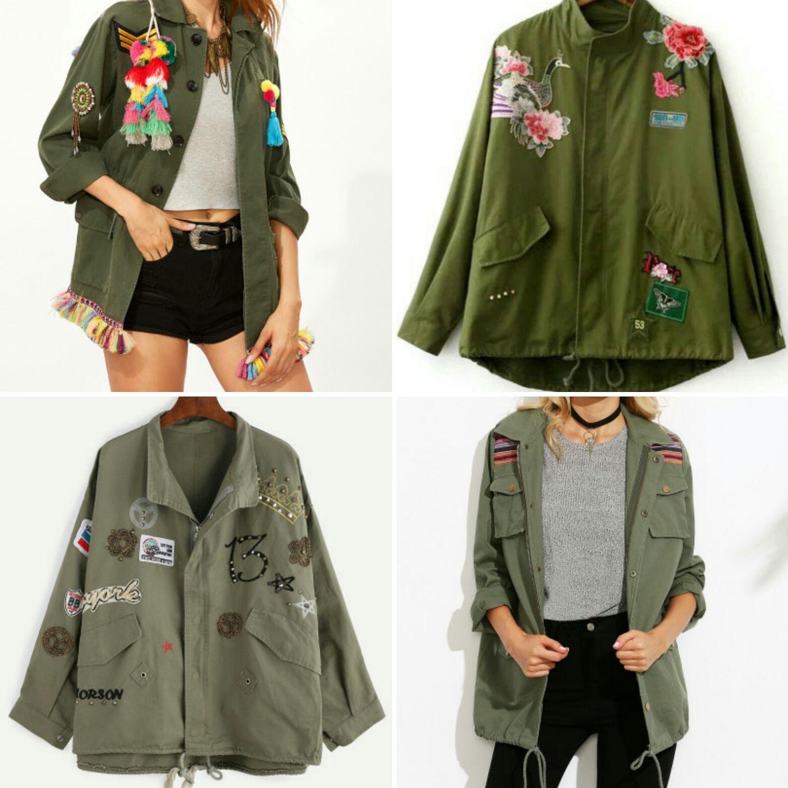 chaquetas Pinterest Military «moda» Shopping Chic Militares Faw1Hq