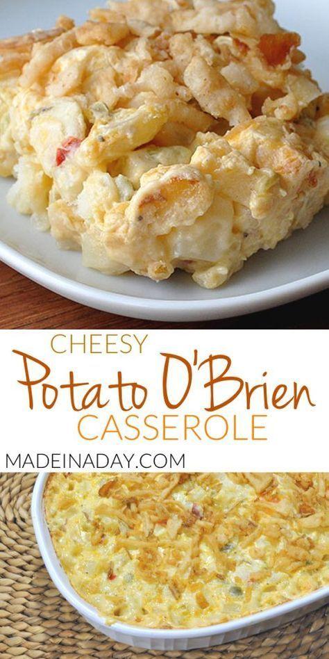 O Brien Kartoffelauflauf - #brien #kartoffelauflauf - #Elizabeth'sRanaPastaRezepte #howtofryonions