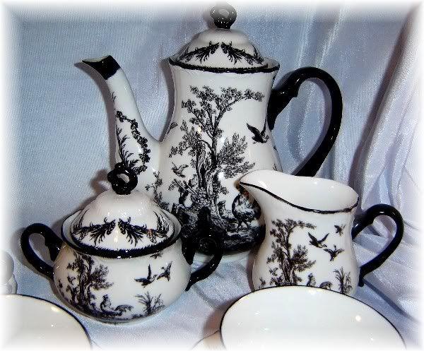 Enchanting Black Toile Plates Ideas - Best Image Engine - maxledpro.com