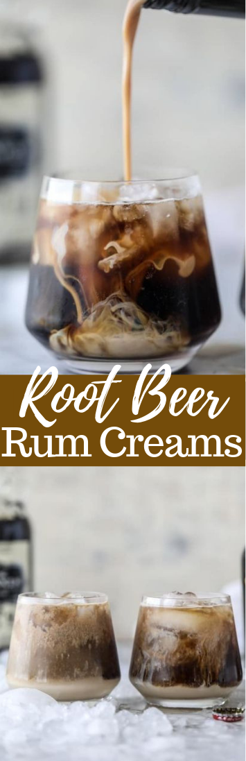 ROOT BEER RUM CREAMS #vodka #drinks #boissonsfraîches