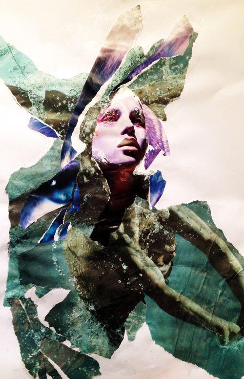 Collage - 2014 #iamdanielfisher #collage #art
