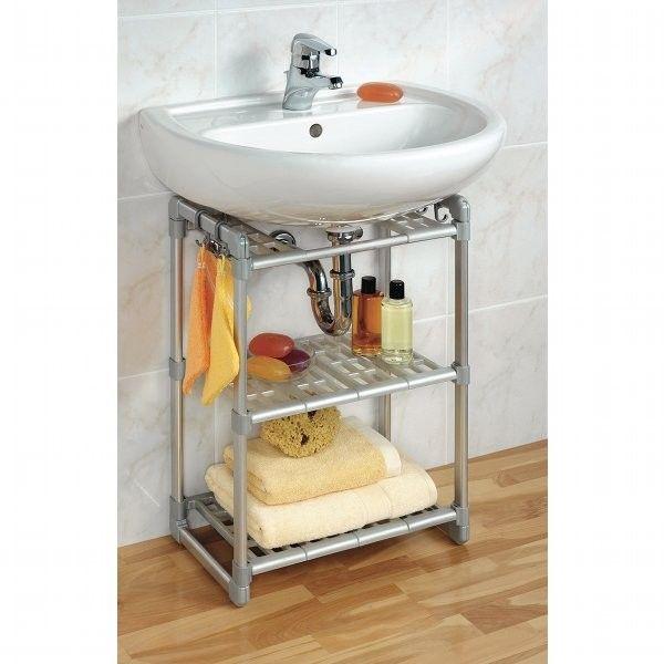 rangement sous lavabo salle de bain derby casablanca. Black Bedroom Furniture Sets. Home Design Ideas