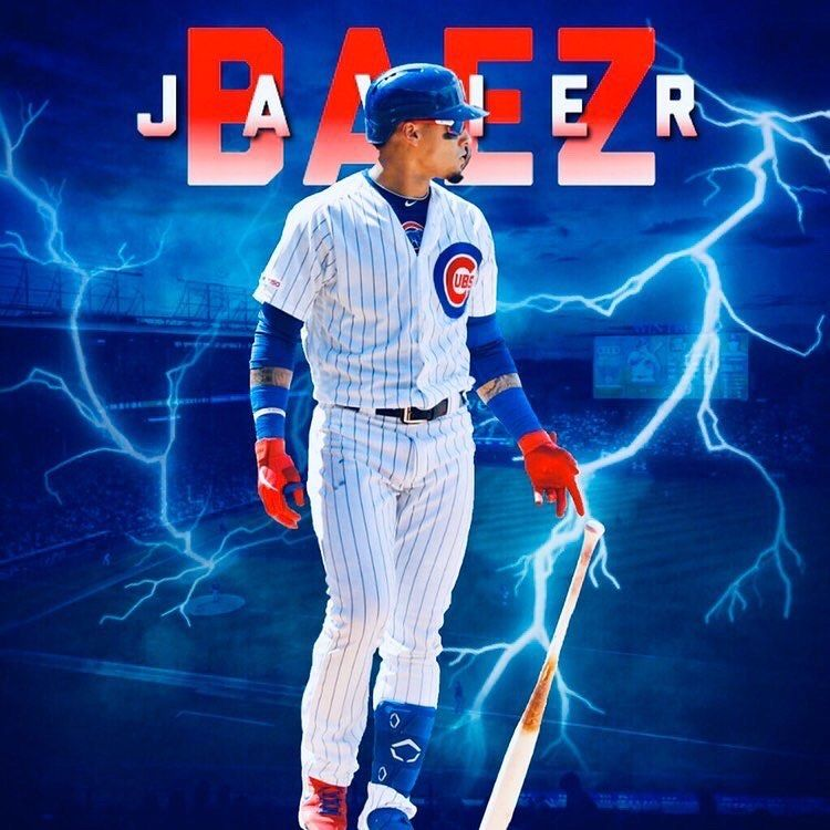 """Javy Baez Fan Page on Instagram """"🔥, thanks to"""