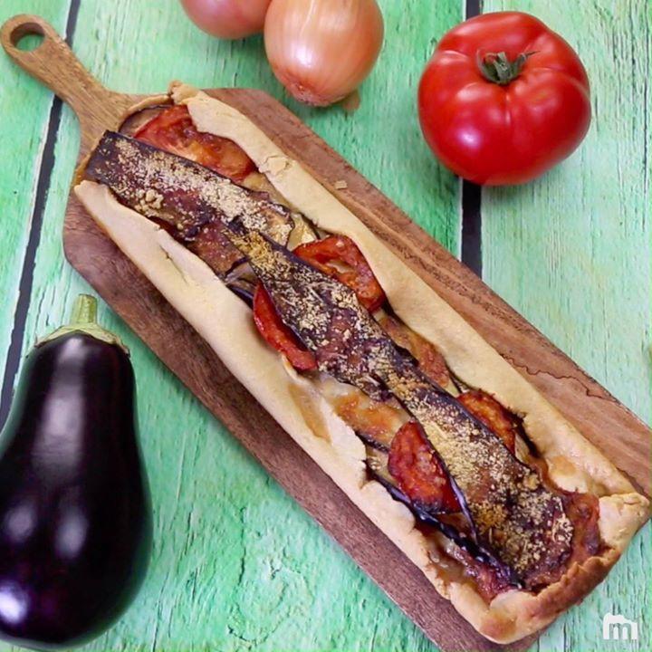 Recettes Tartes Salees Marmiton: Tarte Aux Aubergines, Tomates Et Parmesan