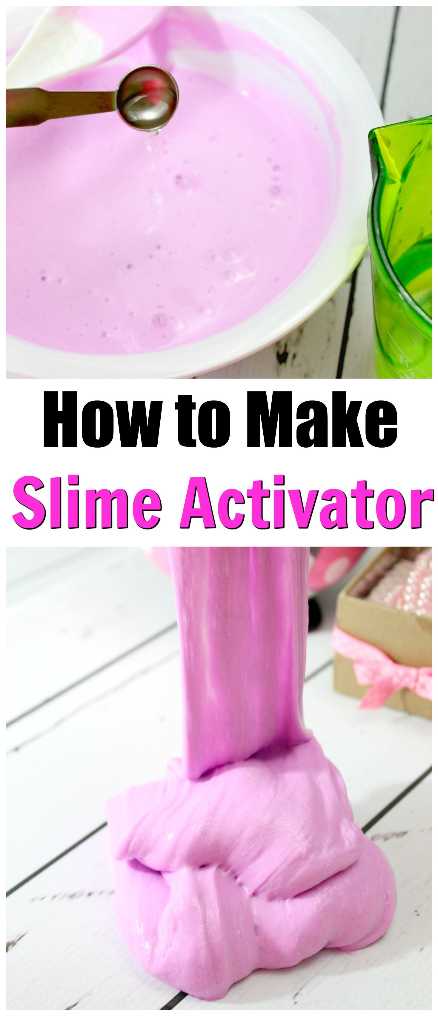 How to make a slime activator with borax how to make slime easy easy slime activator recipe learn how to make a slime activator with just 2 easy ingredients this makes the perfect slime overtime via mellisaswigart ccuart Choice Image