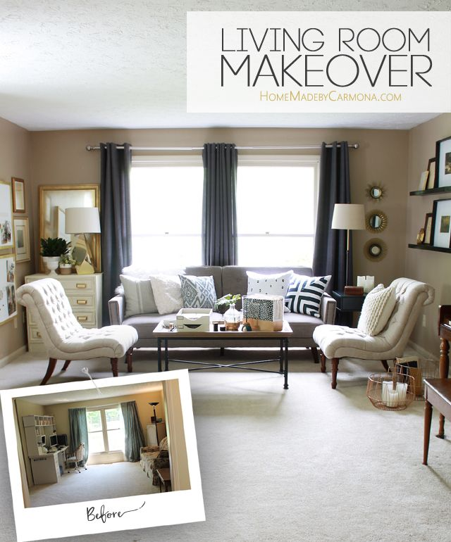 The Evolutions Of A Living Room Living Room Remodel Diy Living