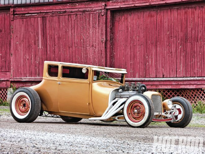 1927 Ford Model T Coupe Hot Rod Magazine Hot Rods Cars Muscle