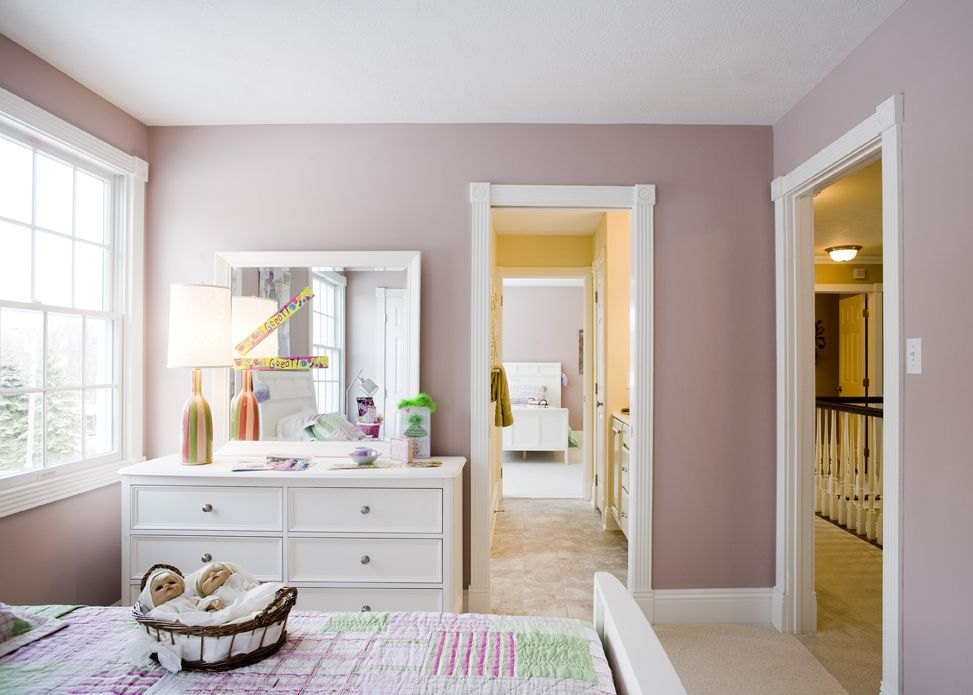 Bedroom with custom jack and jill bath providence home - What is a jack and jill bathroom ...