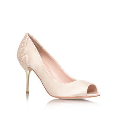 d29ee3b7b65 Carvela Nude 'Lottie' mid heel courts- at Debenhams.com bridesmaid ...