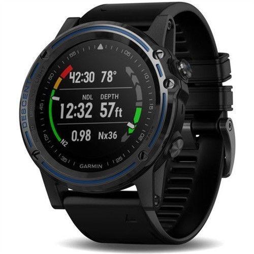 Garmin Descent Mk1 Gps Map Diving Watch Black Sport Band In 2019