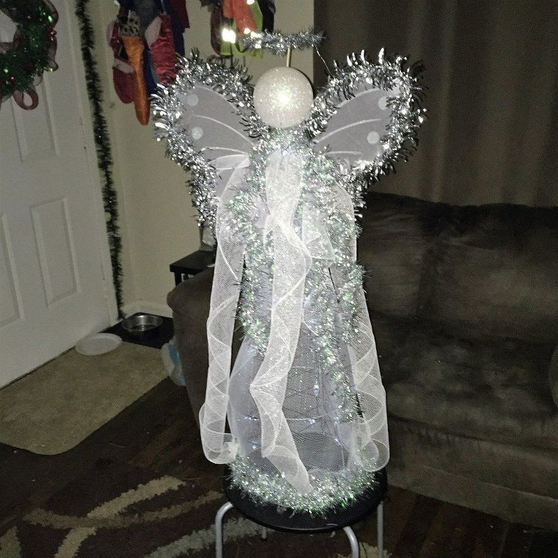 Next time you\u0027re at Lowe\u0027s, grab a tomato cage and copy this - outdoor angel christmas decorations