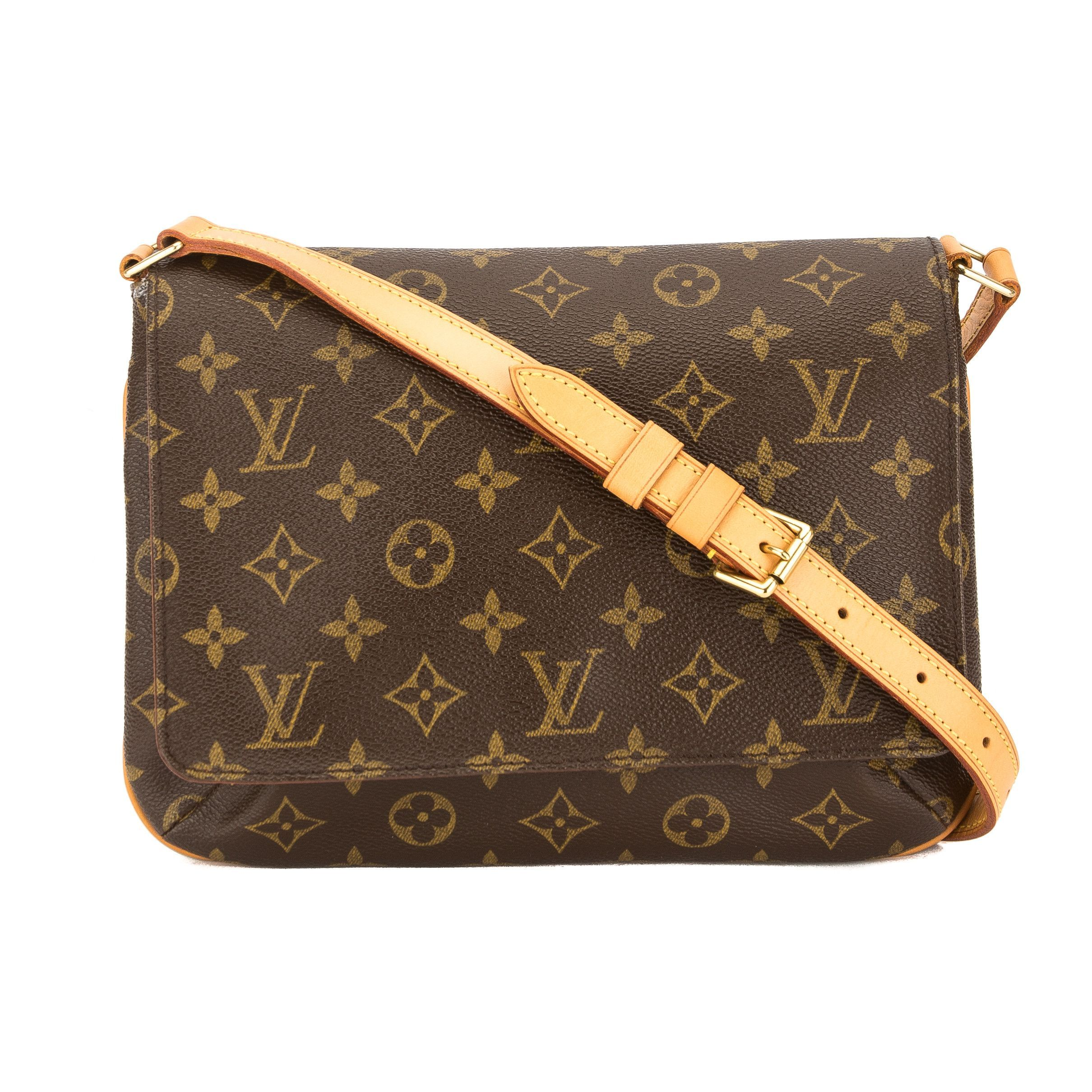 17e2b12d109e Louis Vuitton Monogram Canvas Musette Tango Bag (Pre Owned ...