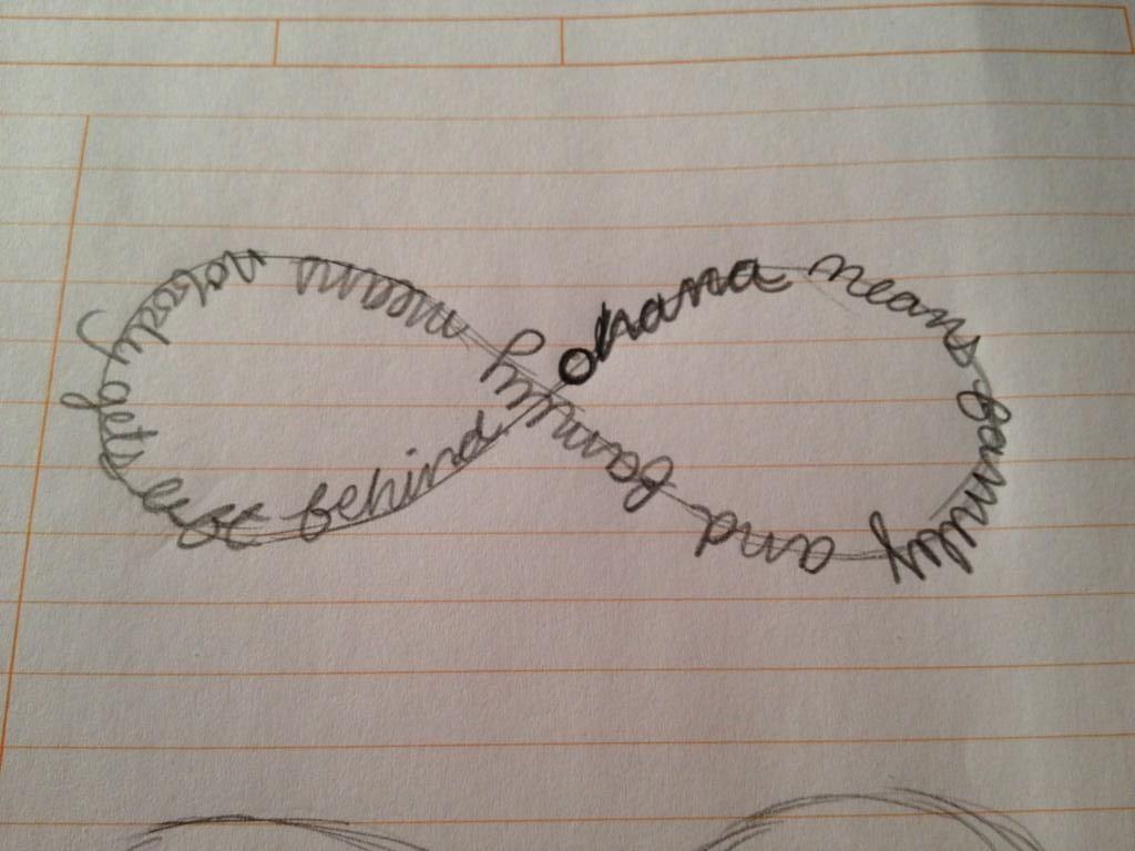 Ohana Means Family Quote Tattoo: Ohana Tattoo