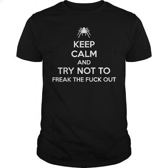 Tarantula Keep Calm T-Shirt - #army t shirts #hoddies. BUY NOW => https://www.sunfrog.com/Pets/Tarantula-Keep-Calm-T-Shirt-89526568-Black-Guys.html?id=60505