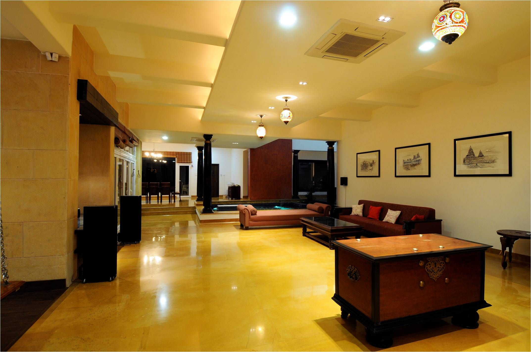 Enjoy Your Life From Now Today In Baghdad Indian Home Interior Home Renovation Stone Flooring