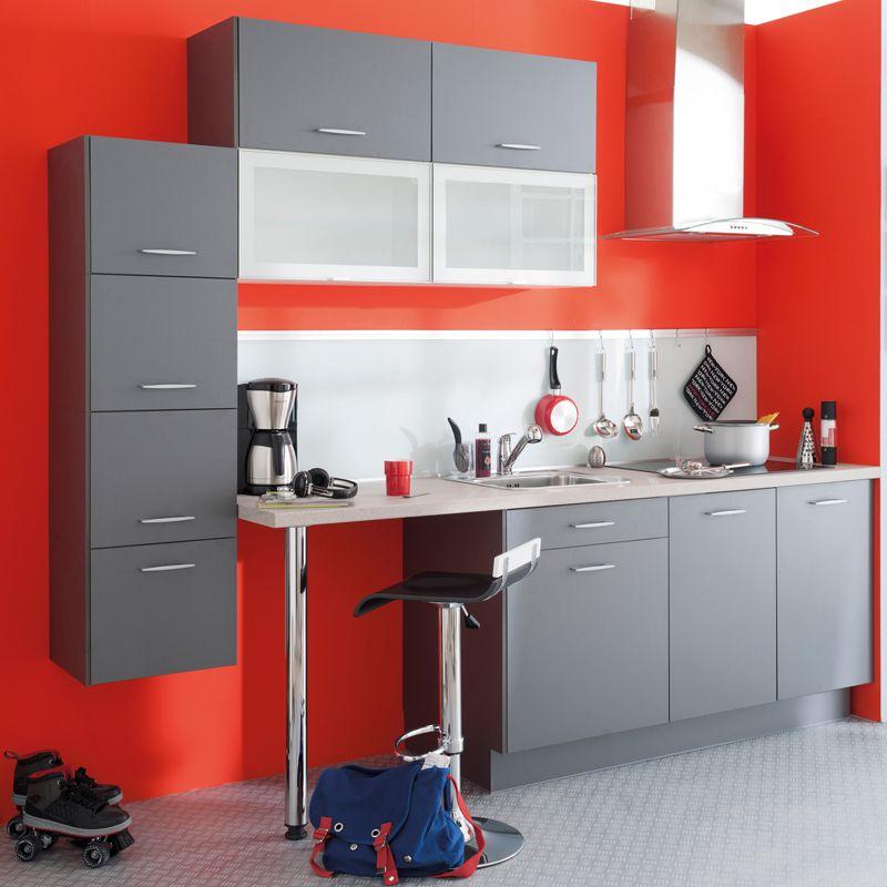 Petite cuisine  20 modèles de kitchenettes idéales pour les - Conforama Tables De Cuisine
