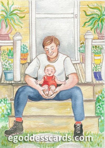 What could be more tender than daddy's big hands? Daddy's Hands celebrates this phenomenon.