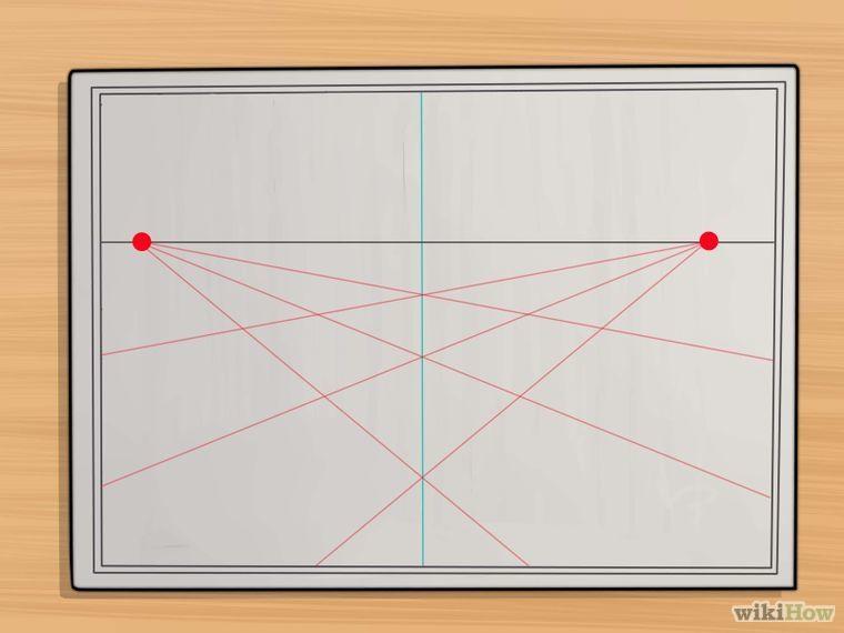 dessiner en perspective | Perspective, Maniere et Dessiner
