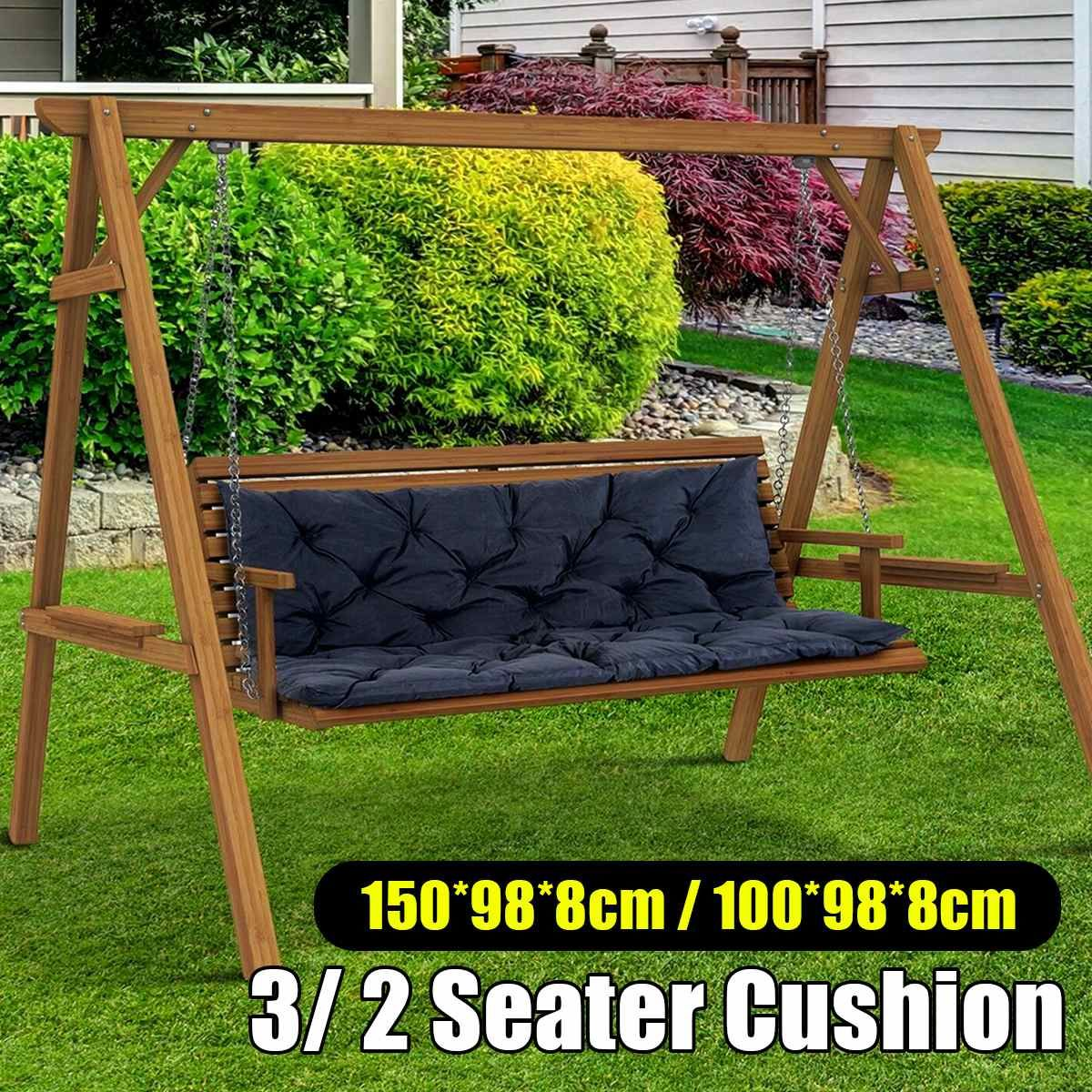 Waterproof Dustproof Chair Replacement Canopy 150cm 3 Seater Garden Swing Cushion Fabric Cover Dust Covers Spo In 2020 3 Seater Garden Swing Cushion Fabric Chair Cover