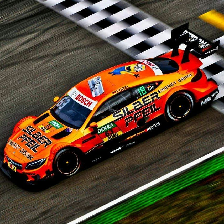 Some Impressions Of The Orange Silberpfeil Energy Drink Livery Of