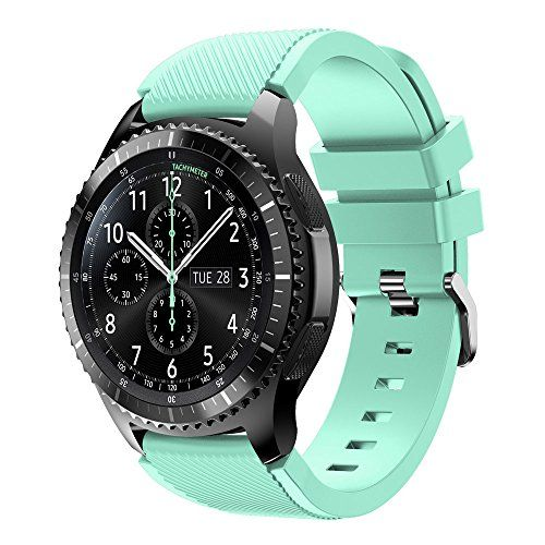 Samsung Gear S3 Frontier Watchband Abcsell Silicone Bracelet For Samsung Gear S3 Frontier Samsung Watches Silicone Watch Band Watch Bands